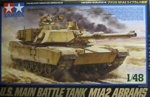 1-48-US-Main-Battle-Tank-M1A2-Abrams-Model-Kit-by-Tamiya