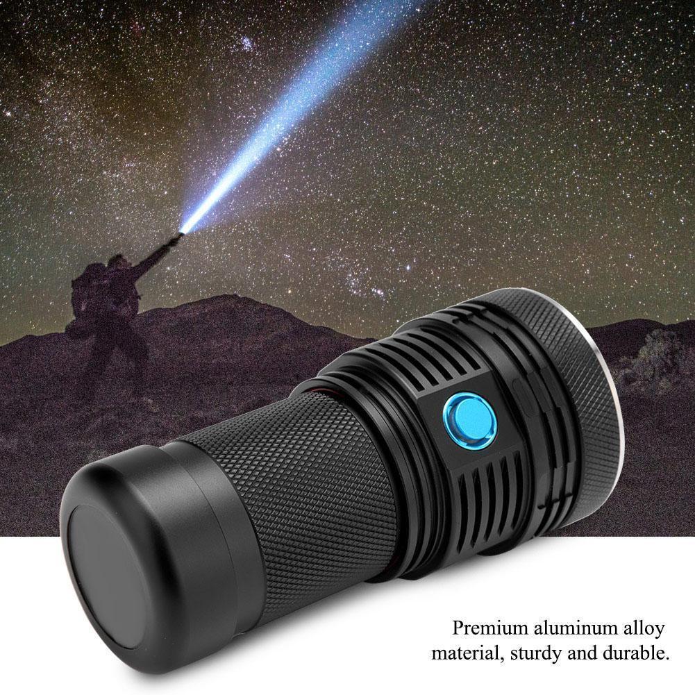 13000LM Q3 XHP70  LED Emergency Hunting 18650 Flashlight Torch Camping Lamp Set  online shopping sports