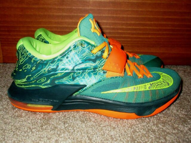 timeless design 6b4e8 a41e0 Durant 7 NIKE Weatherman Green Men s shoes 9