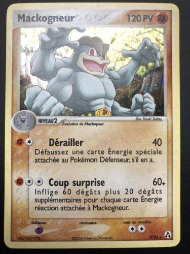 Carte Pokemon MACKOGNEUR 9//92 Holo Créateurs de Légendes Bloc ex FR NEUF