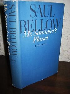 1st Edition Mr. Sammler's Planet Saul Bellow Nobel Prize 2nd Printing Novel