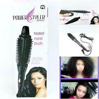 Perfecter Fusion Hair Styler Calista Pro Grip Hot Round Brush Heated Ceramic