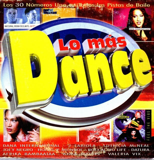 LO MAS DANCE BIT PROMO CD Single FILMAX MAX MUSIC BIT BLANCO Y NEGRO