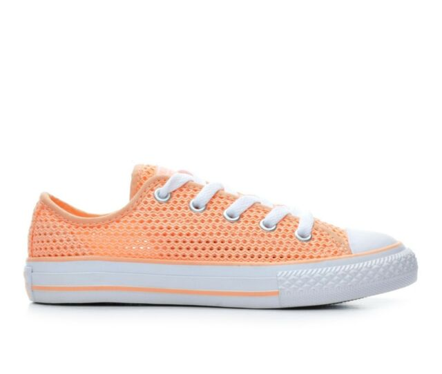 eac11f52cf2b58 Converse Kids Chuck Taylor All Star Ox Shoes Sunset Glow sunset Glow ...