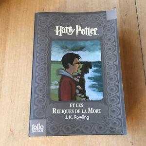 Details Sur Livre Harry Potter Et Les Reliques De La Mort Folio Junior Edition Collector