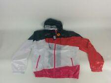 Size XL Authentic Diesel 55DSL designer Black White Red nylon windbreaker jacket