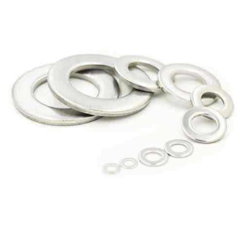 A-2 25 pcs M2.5 2.5mm Metric flat washer Stainless steel 18-8