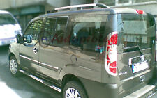 Fiat Doblo 2 van Aluminio Barras De Techo Barra Set Swb 2010 > Rack