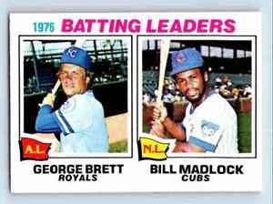 1977-O-Pee-Chee-Must-See-Condition-George-Brett-Bill-Madlock-1