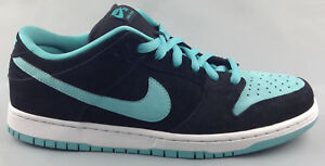 Nike SB Dunk Low Pro Mens Size 11 Black Clear Jade  acc60af251