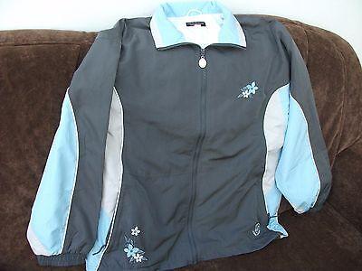 ZuverläSsig Linea Primero Sportwear Damenjacke Größe 46, Blau-grau, Sehr Leicht Online Rabatt