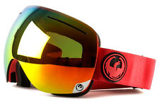 NEW 2016 Dragon X1 Goggles-Bitter-Red Ion+Yellow Red Ion-SAME DAY SHIPPING!