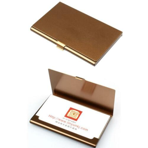 Aluminum Metal Pocket Business ID Credit Card Wallet Holder Waterproof Case Box