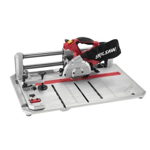 SKIL 7.0 Amp plancher de bois croix claveaux Rip Coupe Clôture Cordon Sol Scie 4-3//8 en