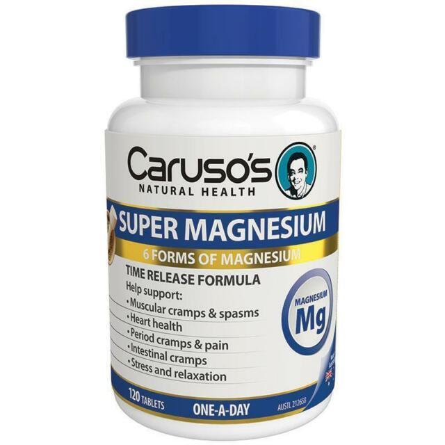 Caruso's Super Magnesium Complex 120 tablets