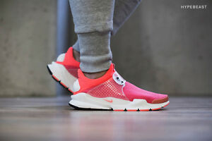 huge selection of f4520 7dfa1 Details about Nike Sock Dart SP Infrared Summit White flyknit fragment  design 686058-661