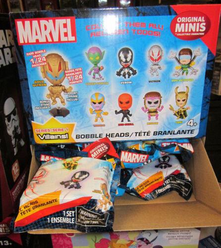1x Marvel Villains original minis Mini Figures Pack Blind Bags Series 1