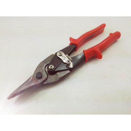 Aviation Tin Snips Sheet Metal Straight Cut Heavy Duty Shear Scissors Tool