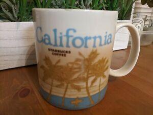 STARBUCKS-2012-034-California-034-Surfer-Palms-Redwood-Coffee-Mug-Cup-16-oz-Collector