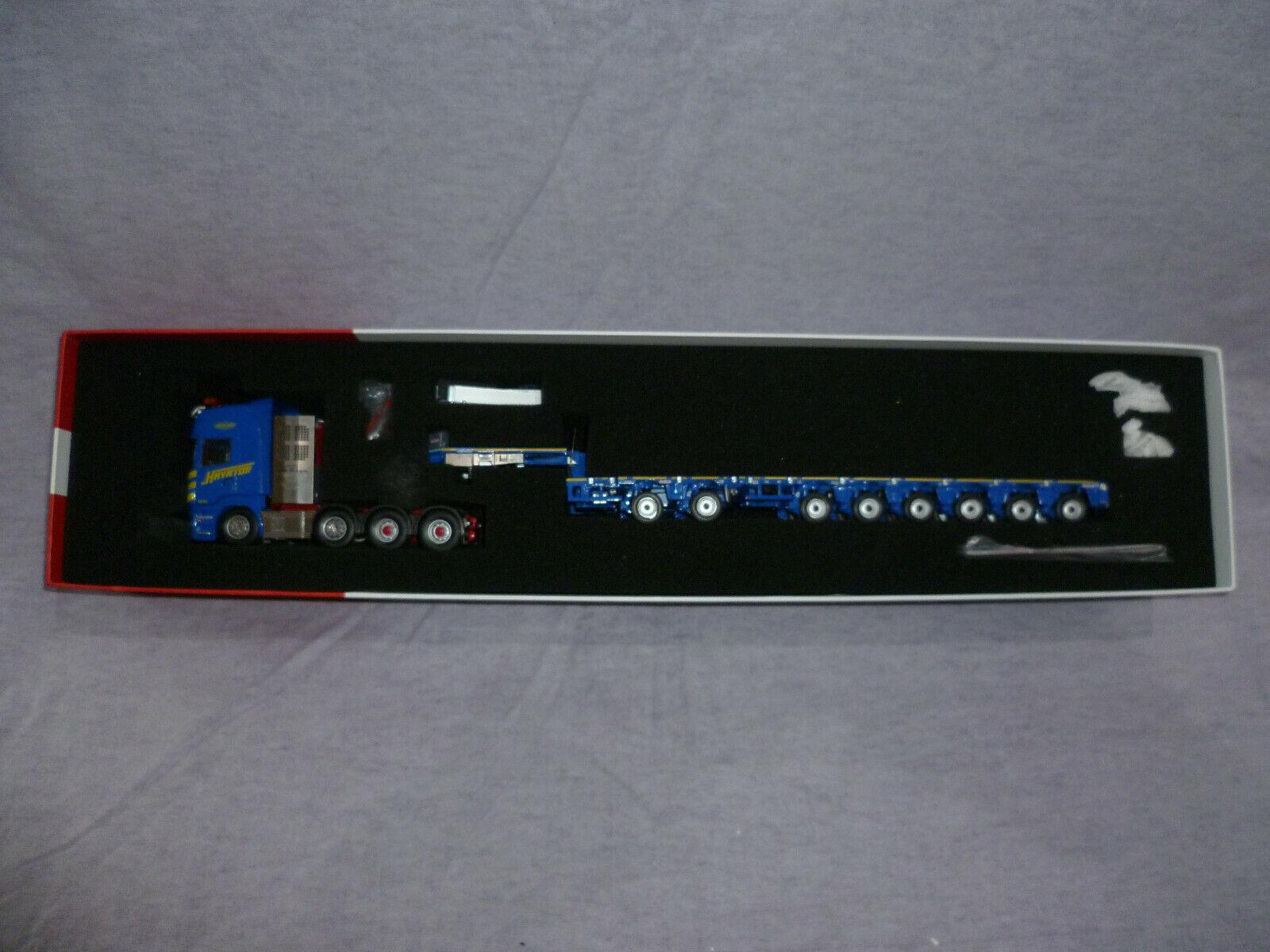1 50 IMC 31-0040 Havator Scania Masttransporter für Liebherr LTM 11.200
