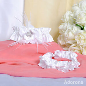 White-Satin-Handmade-Flowers-Garter-GB70e