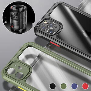 Clear Shockproof Bumper Case For iPhone 12 Pro Max Mini 11 XS XR 8 7 Plus SE 2nd
