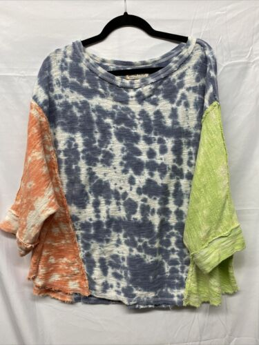 Free People We The Free Womens Tie Dye Comfort Swe