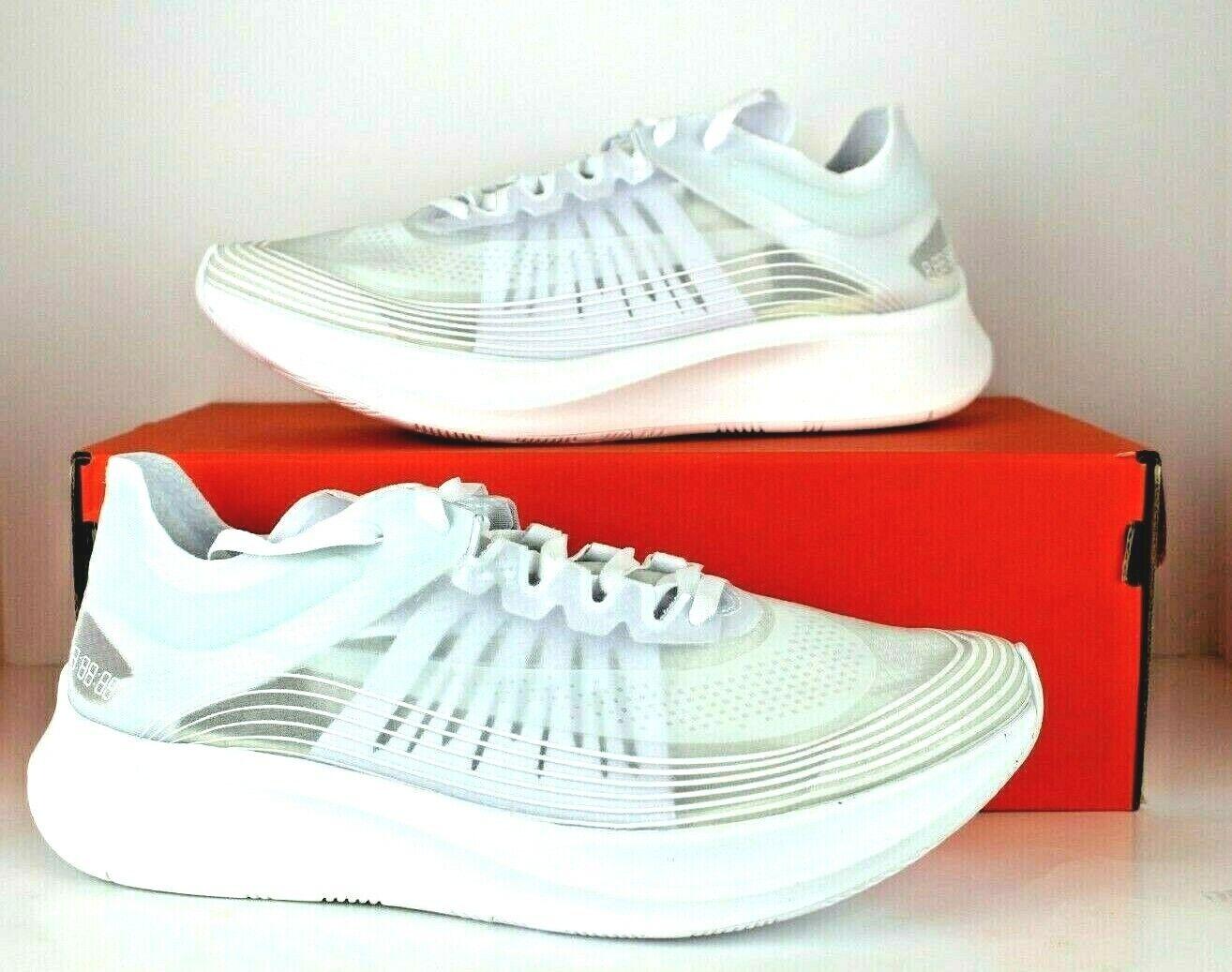 NIKE ZOOM FLY SP NA Men's Running shoes BQ7024 100 White White-Summit White NIB