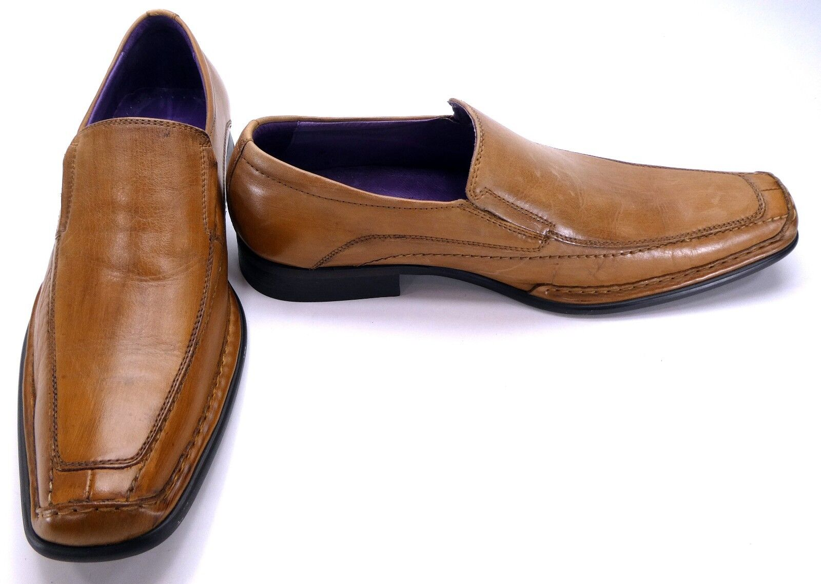 Giorgio Brutini Shoes Pelle Oxford Loafers Brown    Size 8 41e972