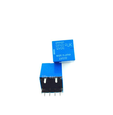 G8ND-2UK 1 x replacement for Omron 12VDC Relay For Renault BMW X5//X6