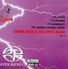 Super Artists on Super Audio, Vol. 5 Super Audio Hybrid CD (CD, Oct-2008, Channel Classics)