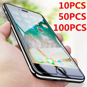 Wholesale Bulk Lot Tempered Glass screen protector For iPhone 13 12 11 XR XS SE