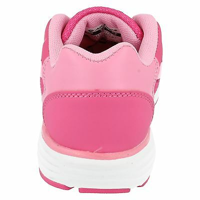 GIRLS HI TEC PAJO JRG LACE UP PINK RUNNING SPORTS GYM TRAINERS SHOES
