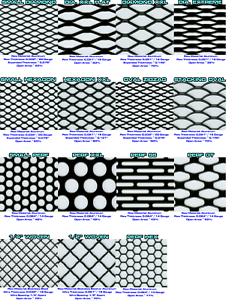Details about CCG UNIVERSAL GRILL MESH BIG SAMPLE PACK - 3