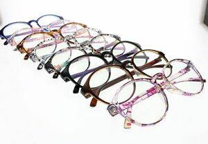 45301c088a1 Women s Large Oversized Flowers Oval Frame Reading Glasses Readers + ...