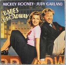 BABES on BROADWAY  Mickey Rooney &  Judy Garland  3rd Musical  Film in Laserdisc