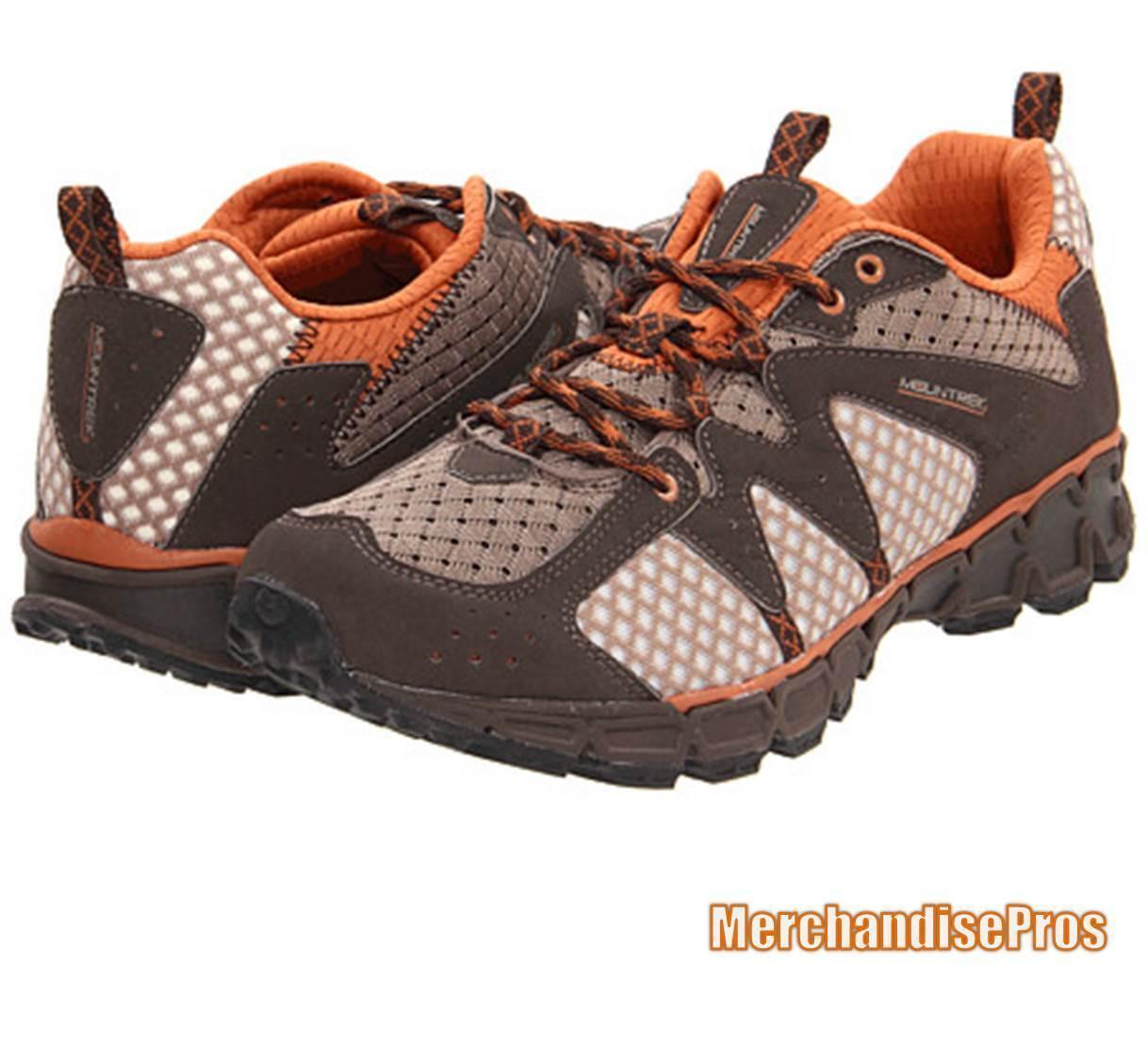 Herren MOUNTREK HORIZON TRAIL Schuhe RUNNING Schuhe TRAIL braun/Orange 11M MEDIUM  NEW 4e6096