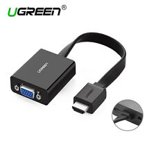 Ugreen HDMI to VGA adapter Converter Video 1080P for Xbox 360 PS3 PS4 PC Laptop