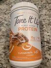 Tone It Up Plant-Based Protein Powder Cinnamon Roll 14.82oz EXP 08/2022