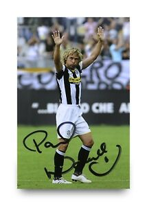 Pavel-Nedved-Hand-Signed-6x4-Photo-Juventus-Genuine-Autograph-Memorabilia-COA