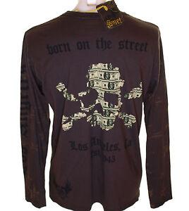 ORIGINAL-NEUF-AVEC-ETIQUETTE-homme-SMET-liberte-Crane-T-shirt-manches-longues-XL