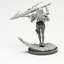 30mm-Resin-Kingdom-Death-Knight-Variant-Unpainted-Unassembled-WH300 thumbnail 2