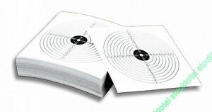 Paquete dianas Válidas para armas d 35318 100 pcs Tipo Diana papel 14x14 cm