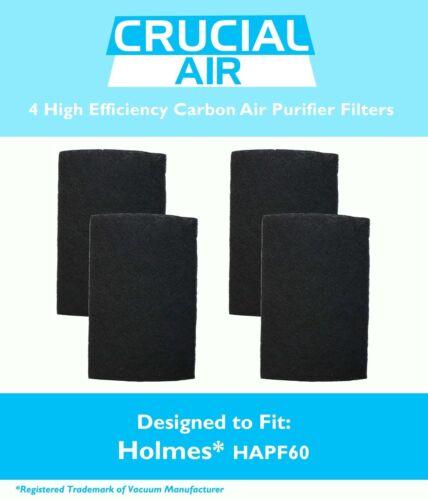 4 Replacements Holmes Carbon Filters Part # HAPF60 HAPF60-U3 /& HAPF60PDQ-U