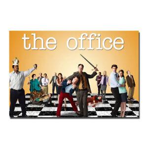 The Office TV Series Comedy Cast Steve Carell Movie Silk