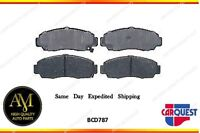 Carquest Brake Pad-ceramic Front Bcd 787