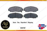 Carquest Brake Pad-ceramic Front Bcd 787
