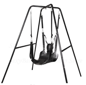 Image Is Loading Top Quality Genuine Leather Sex Hammock Swing Chair