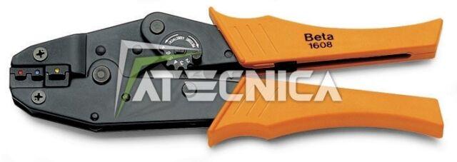 Pince à cosses Beta 1608 avec sertisseuse 0.5 à 6 mm pour faston électrique