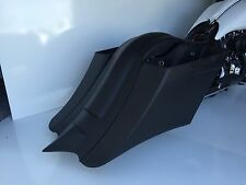 Stretched Saddlebags & rear fender Harley touring bagge 97-08 flh Diamond Tail